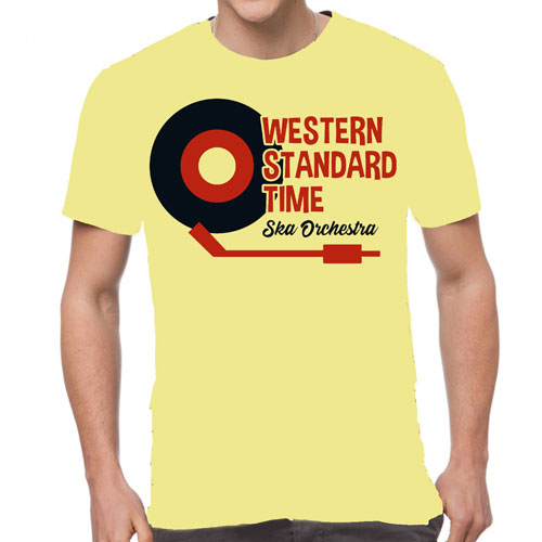 WST Record T-Shirt (Yellow)